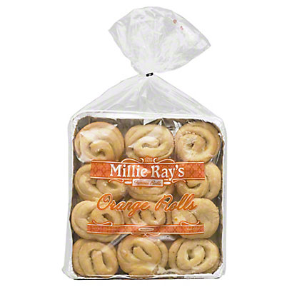 Millie Rays Orange Rolls,15OZ